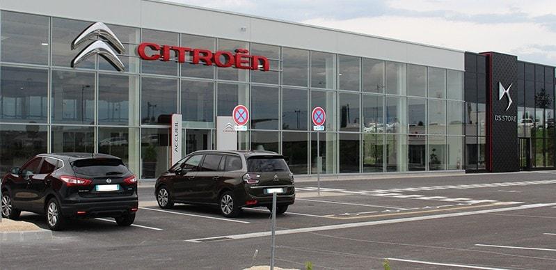 Atelier Citroën mobilier DEA & distribution de fluides