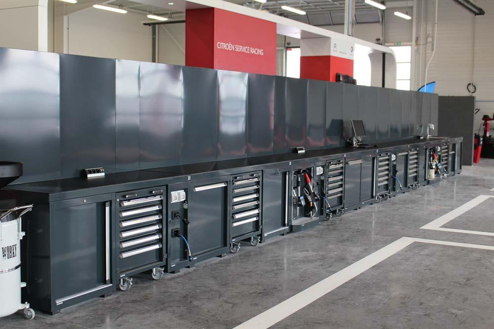 Atelier Citroen mobilier DEA
