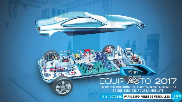 Le rendez-vous approche : Salon Equip'Auto 2017