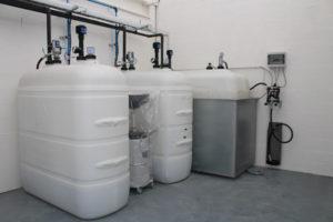 matériel de distribution et récupération des fluides