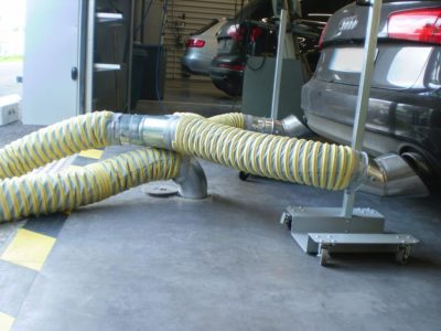 AUDI DBF MERIGNAC Aspiration gaz Worky haute température.6
