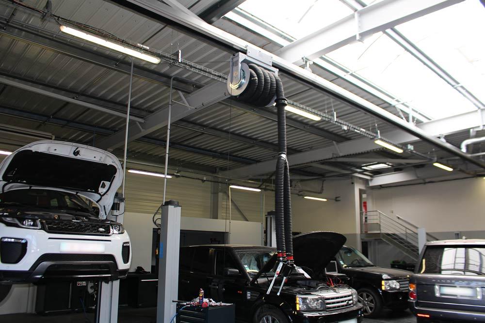 Jaguar-Land-Rover-Frejus.Système-aspiration-gaz-Worky.15