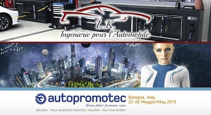 Retrouvez-nous au salon Autopromotec à Bologne
