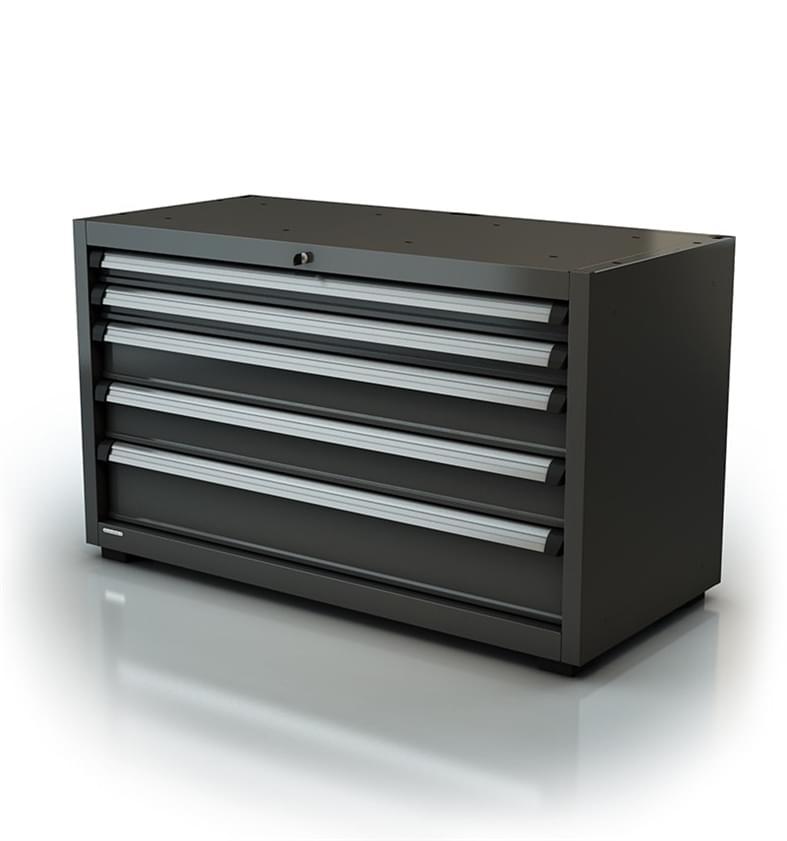 ar-074-10 Module double à tiroirs pour l'agencement d'atelier - série 90