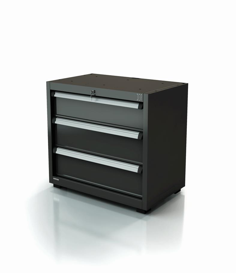 ar-169-10-3 Module un et demi à tiroirs pour atelier 3 tiroirs série 90