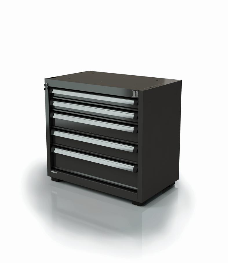 ar-169-11 Module un et demi à tiroirs pour atelier 5 tiroirs série 90