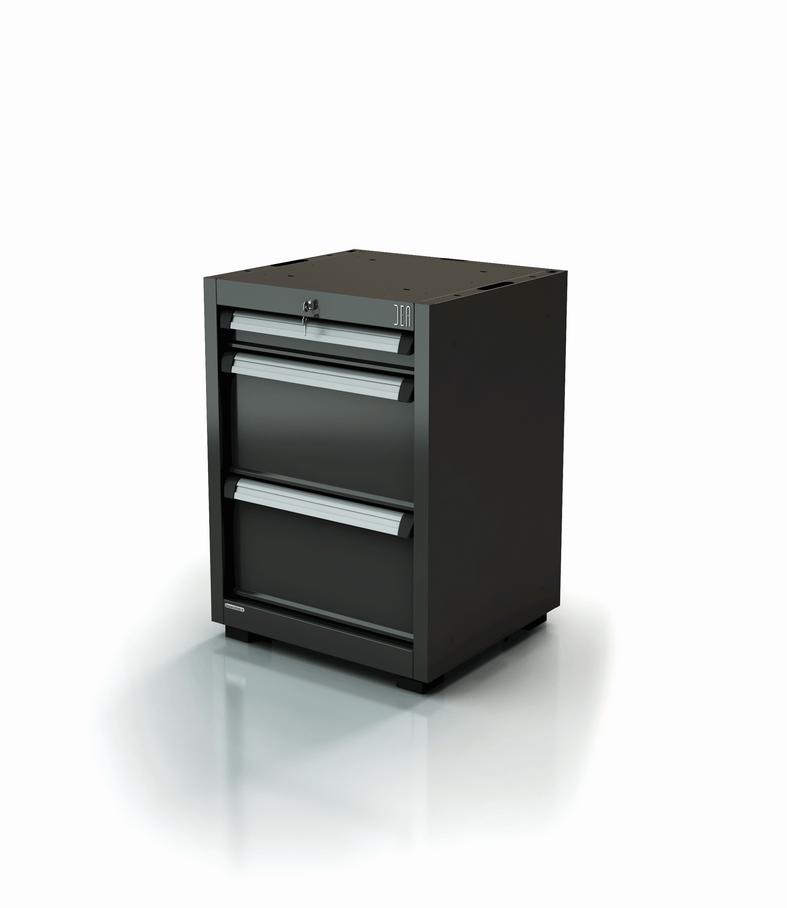 Module à tiroirs pour atelier - 3 tiroirs - Série 90