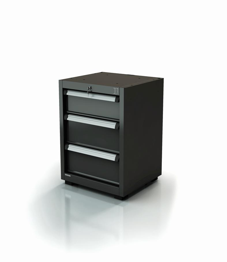 ar-356-11. Module à tiroirs pour atelier 3 tiroirs série 90