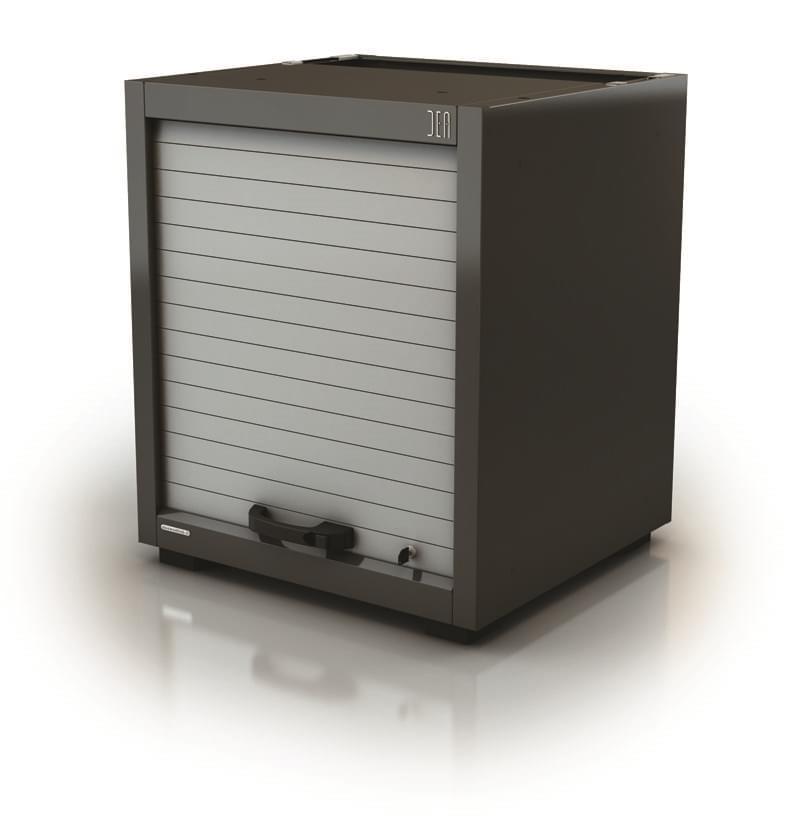 AR-069.03 Module individuel - Hauteur 90cm - Vanne de fermeture & étagères extractibles