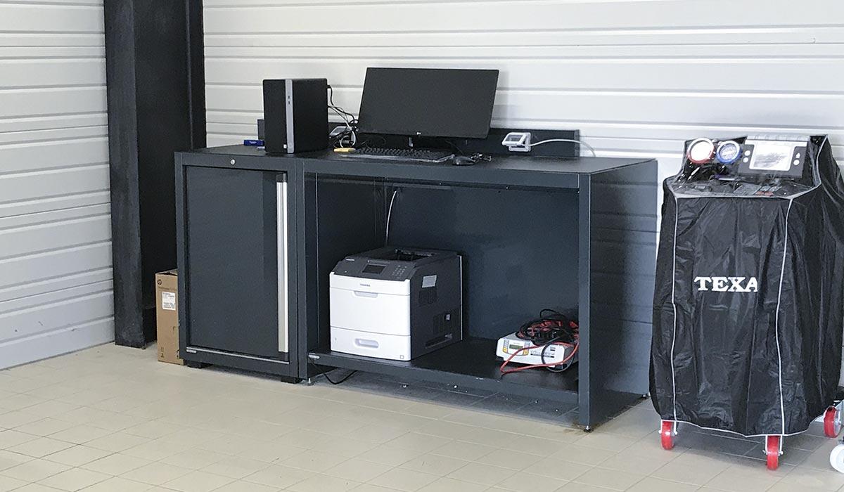 Mobilier d'atelier – Poste technicien - DEA