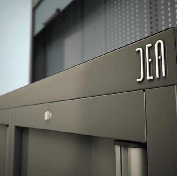 Module porte DEA pour atelier auto