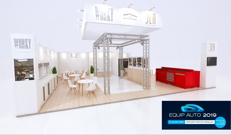 LK au salon EQUIP AUTO 2019