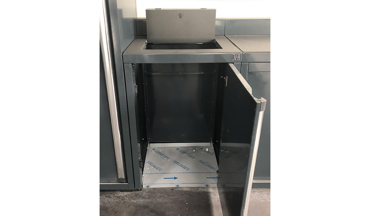 Mobilier DEA - module récolte des déchets