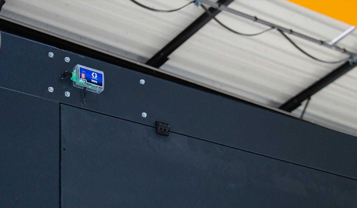 Répéteur de signal pour gestion de fluides en atelier poids-lourd - GRACO