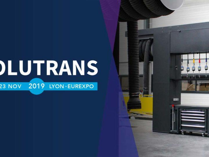 Retrouvez-nous au salon SOLUTRANS 2019 à Lyon