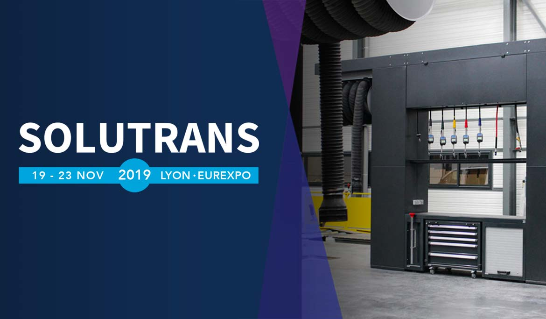 LK au salon SOLUTRANS 2019 à Lyon