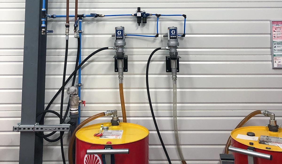 Fûts et système de distribution de fluides - Atelier Ferrari SF Grand Est