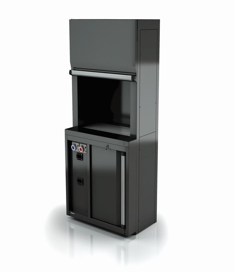 Mobilier technique DEA pour distribution de fluides