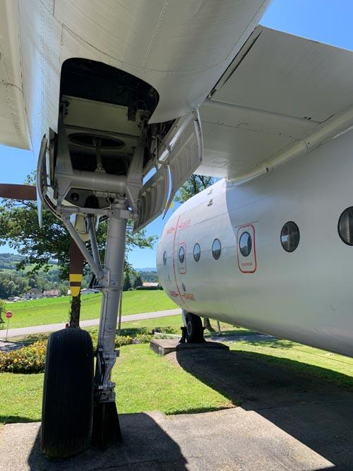 Avion de l'école Ecaut