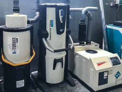 Aspirateur centralisé pour nettoyage véhicule en atelier - Sistem Air
