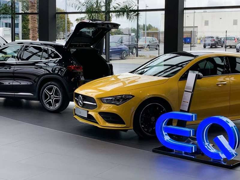 Concession Mercedes Benz - Saga Piret - Nivelles en Belgique
