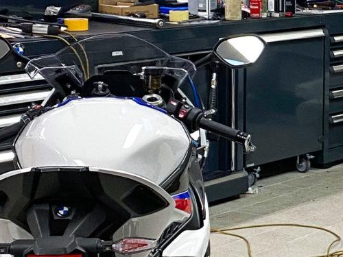 Mobilier d'atelier moto